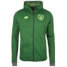 NEW BALANCE Irland Elite Kapuzenjacke Sweatjacke Herren grün / grau