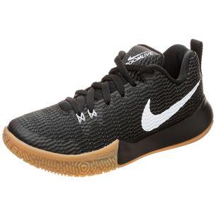 Nike Zoom Live II Basketballschuhe Damen schwarz / silber