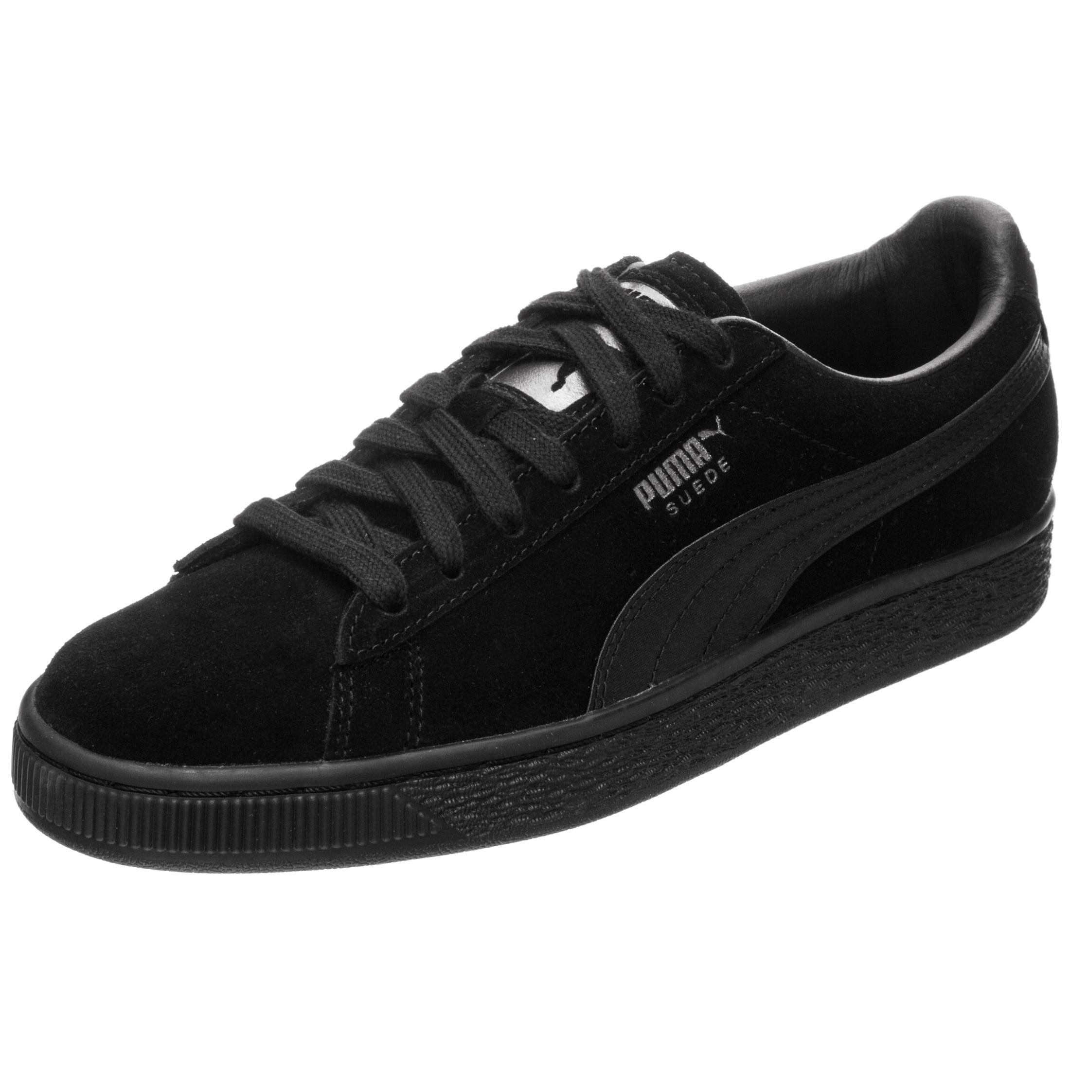 PUMA Suede Classic Satin Sneaker Damen schwarz / silber im Online Shop von  SportScheck kaufen