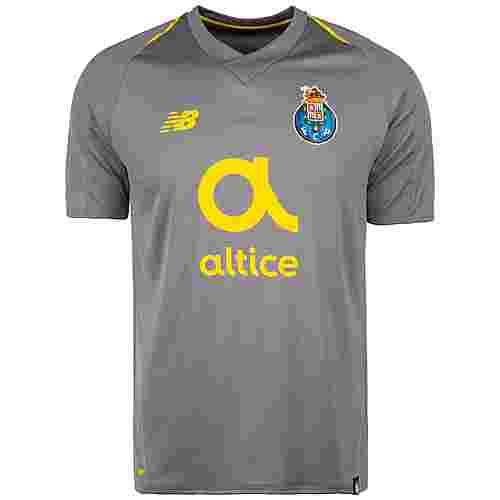 NEW BALANCE FC Porto 18/19 Auswärts Fußballtrikot Herren grau / gelb