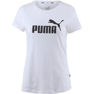 PUMA Essential Logo T-Shirt Damen puma white