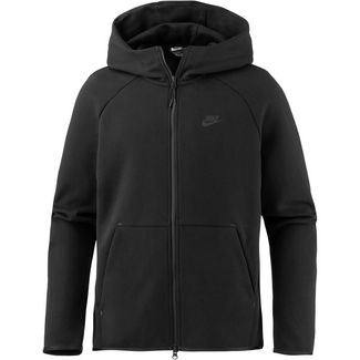Nike NSW TECH FLEECE Kapuzenjacke Herren black-black
