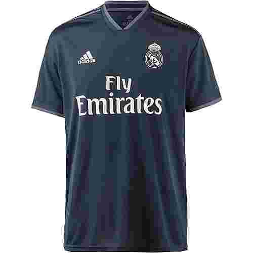 adidas Real Madrid 18/19 Auswärts Fußballtrikot Herren tech onix
