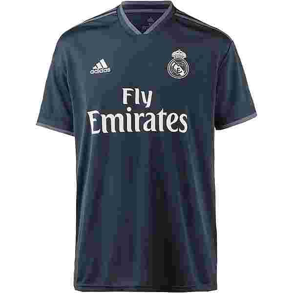 adidas Real Madrid 18/19 Auswärts Trikot Herren tech onix