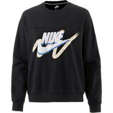 Nike Sweatshirt Damen BLACK/BLACK/BLACK