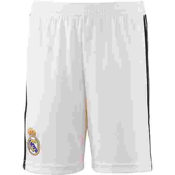 adidas Real Madrid 18/19 Heim Fußballshorts Kinder core white