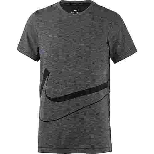 Nike Funktionsshirt Kinder black-cool grey