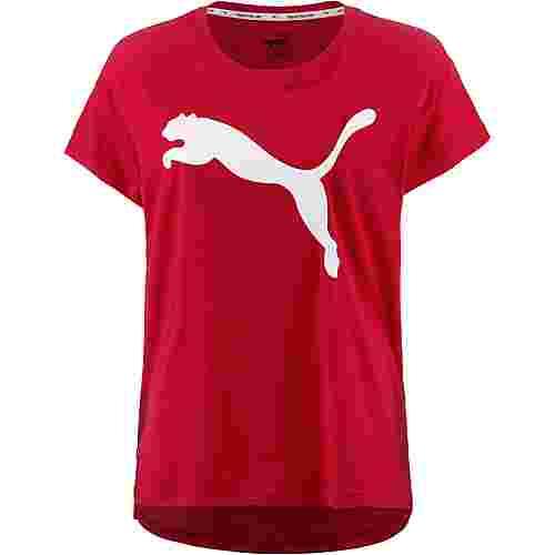 PUMA T-Shirt Damen ribbon-red im Online Shop von SportScheck kaufen