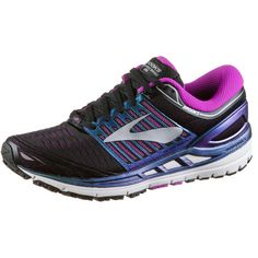Brooks Transcend 5 Laufschuhe Damen black-purple-multi