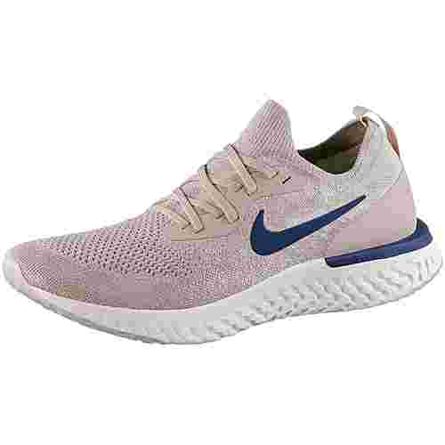 Nike Epic React Flyknit Laufschuhe Herren diffused-taupe-blue-void-phantom-crimson-tint