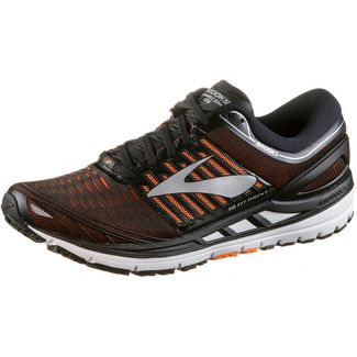 Brooks Transcend 5 Laufschuhe Herren black-orange-silver