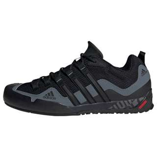 adidas TERREX Swift Solo Schuh Wanderschuhe Herren Core Black / Core Black / Lead