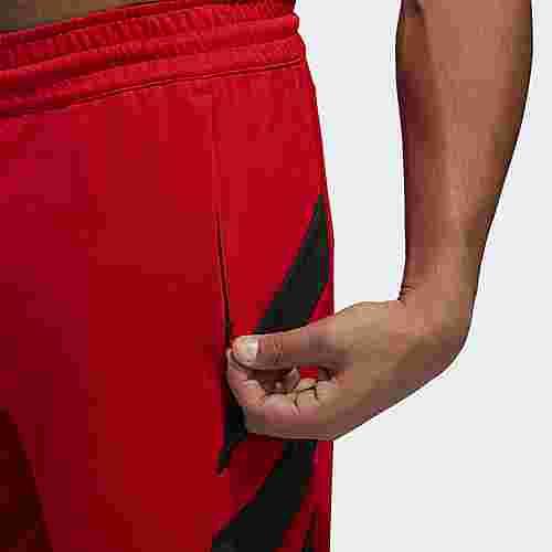 adidas Harden Basketball-Shorts Herren Scarlet