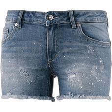 Only Jeansshorts Damen medium blue denim