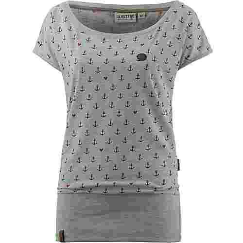naketano diplomator terminator t shirt damen grey melange im online shop von sportscheck kaufen. Black Bedroom Furniture Sets. Home Design Ideas