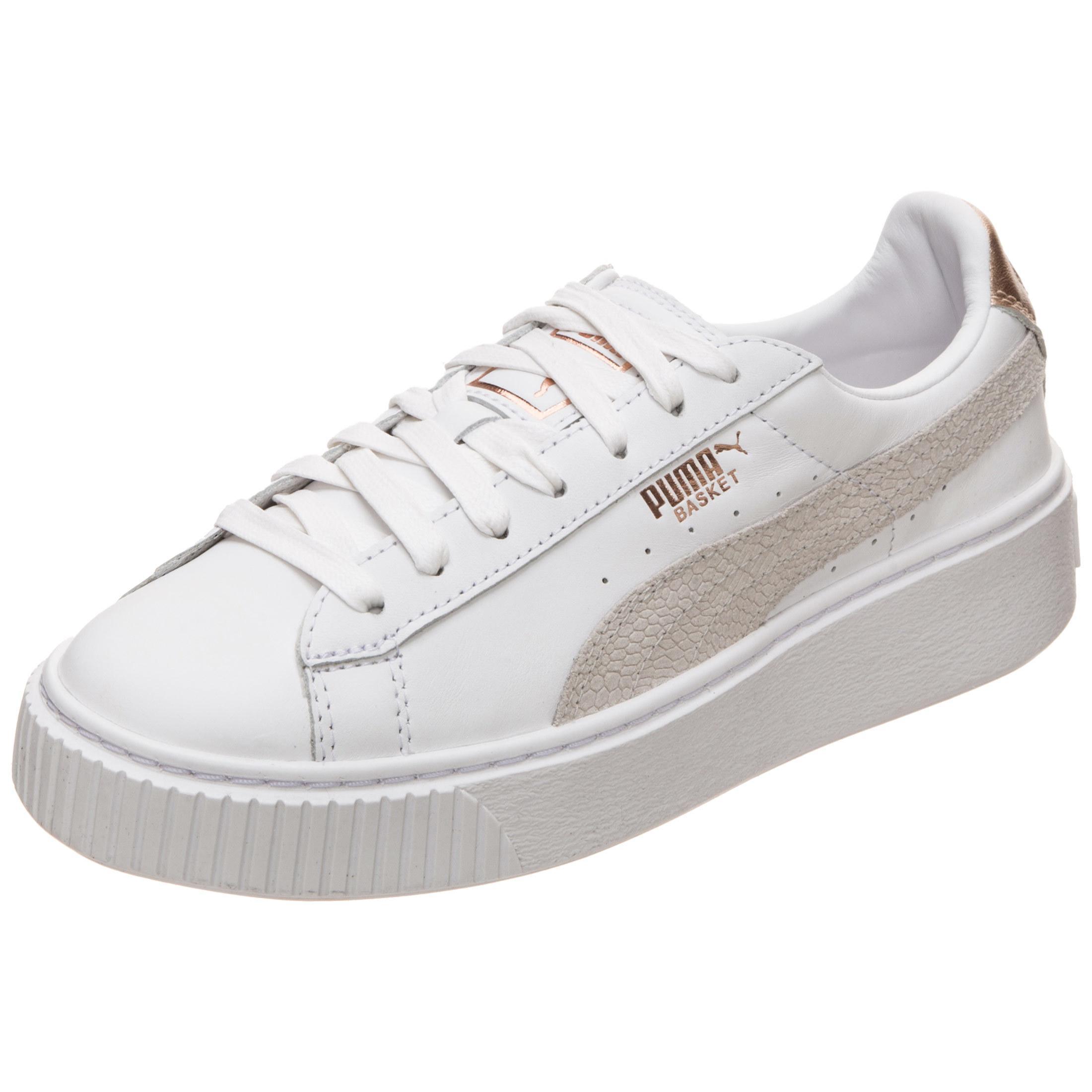 PUMA Basket Platform Euphoria RG Sneaker Damen weiß / rosé gold im Online  Shop von SportScheck kaufen
