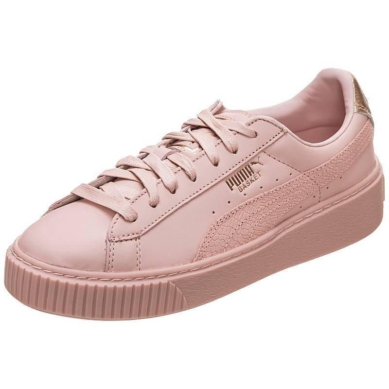 puma sneaker damen rosa platform