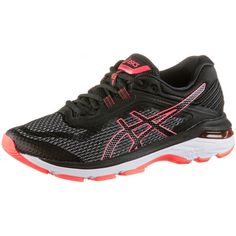ASICS GT-2000 6 Laufschuhe Damen black-flash-coral
