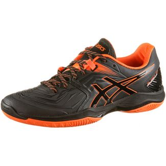 ASICS Blast FF Hallenschuhe Herren black-shocking orange