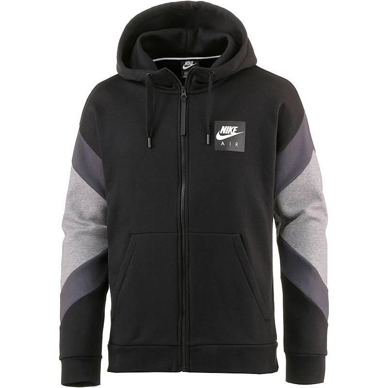 Nike Sweatjacke Herren black-anthracite-carbon heather im Online ... baa9a853bc