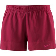 Nike Flex Funktionsshorts Damen red crush-black-rush pink