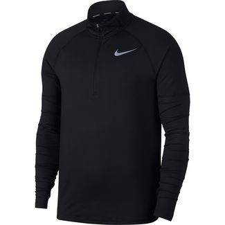 Nike Laufshirt Herren black-reflective-silver