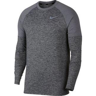 Nike Laufshirt Herren dark-grey-htr-reflective-silver