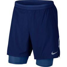 Nike Flex Distance Laufshorts Herren blue-void-gym-blue-reflective-silver
