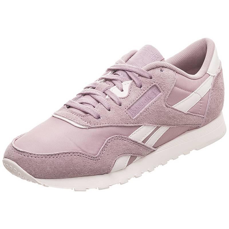 Flieder Im Reebok Online Sneaker Leather Weiß Nylon Classic Damen 0XqzXT6