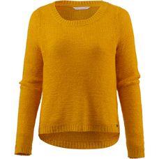 Only Strickpullover Damen golden yellow