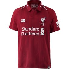 NEW BALANCE FC Liverpool 18/19 Heim Fußballtrikot Kinder red pepper