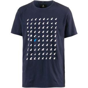 SWOX Finn Tee T-Shirt navy blue