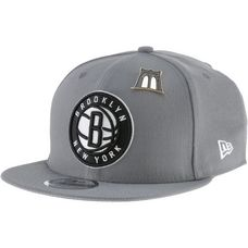 New Era 9FIFTY Brooklyn Nets Cap storm grey