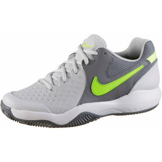 Nike AIR ZOOM RESISTANCE CLY Tennisschuhe Damen vast grey- volt glow