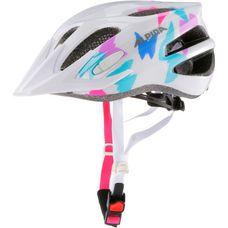 ALPINA FB Jr. 2.0 Fahrradhelm Kinder weiß/rosa