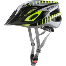 ALPINA FB Jr. 2.0 Fahrradhelm Kinder black-steelgrey-neon