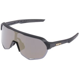 ride100percent S2 Multilayer Mirror Lens Sportbrille Matte Black