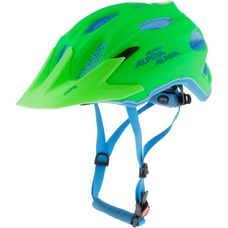 ALPINA Carapax Jr. Fahrradhelm Kinder green/blue