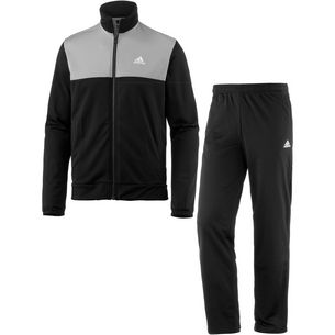 adidas Back2Basic Trainingsanzug Herren black-mgh-solid-grey