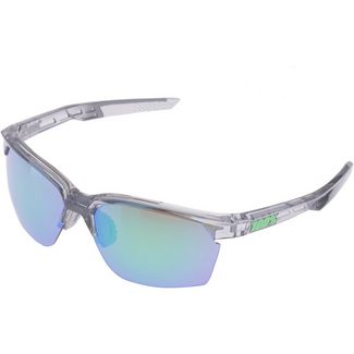 ride100percent Sportcoupe Multilayer Mirror Lens Sportbrille Polished Transl. Crystal Grey