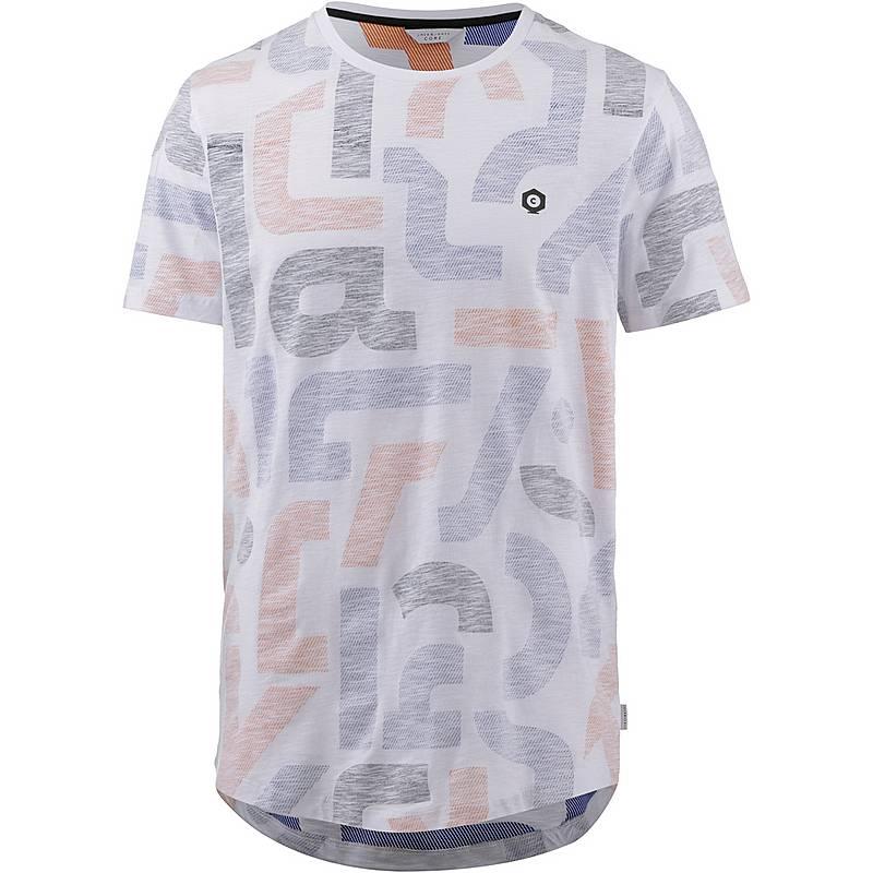 CORE by JACK   JONES JCOLET T-Shirt Herren persimmon orange im ... 23ebe36c02