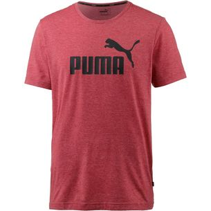 PUMA ESS T-Shirt Herren ribbon red heather