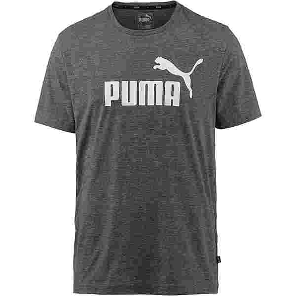 PUMA ESS T-Shirt Herren puma black heather
