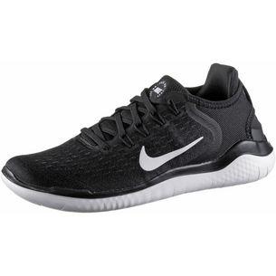 Nike Free RN 2018 Laufschuhe Damen black-white
