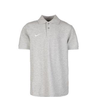 Nike Core Poloshirt Kinder grau / weiß