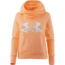 Under Armour Sportstyle Logo Hoodie Damen peach horizon-white
