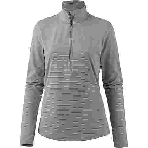 Under Armour Threadborne Streaker Laufshirt Damen steel light heather-steel light heather-reflective