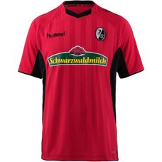 hummel SC Freiburg 18/19 Heim Fußballtrikot Herren true red-black
