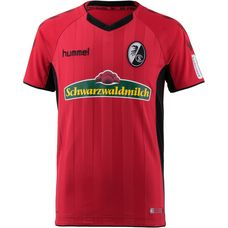 hummel SC Freiburg 18/19 Heim Fußballtrikot Kinder true red-black
