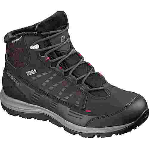 Salomon Kaina CS WP 2 Winterschuhe Damen phantom-black-beet red